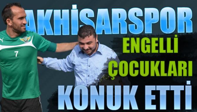 Akhisar Belediyespor, Engelli Çocukları Konuk Etti