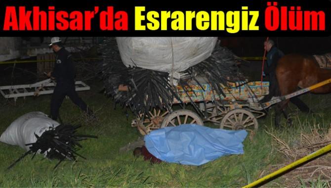Akhisar'da Esrarengiz Ölüm