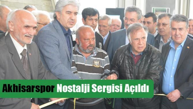 Akhisarspor Nostalji Sergisi Açıldı