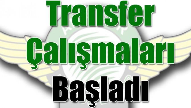 Akhisarspor'da Transfer Çalışmaları Başladı