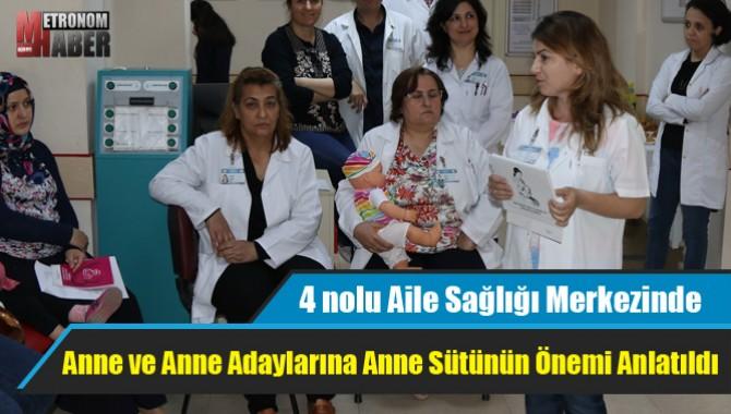 Anne ve Anne Adaylarına Anne Sütünün Önemi Anlatıldı