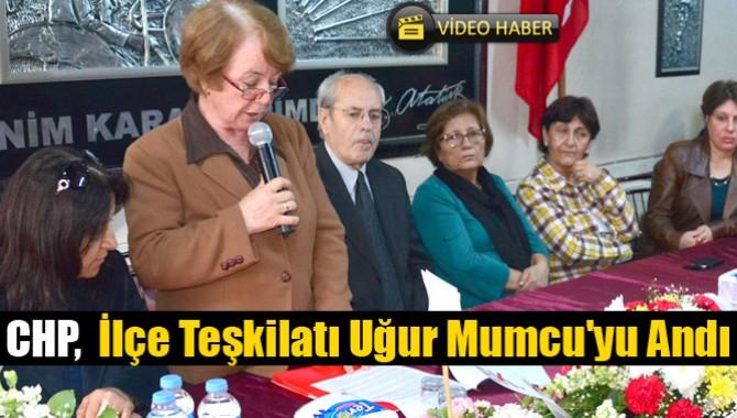 CHP,  İlçe Teşkilatı Uğur Mumcu'yu Andı