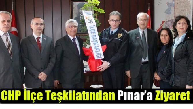 CHP İlçe Teşkilatından Pınar'a Ziyaret