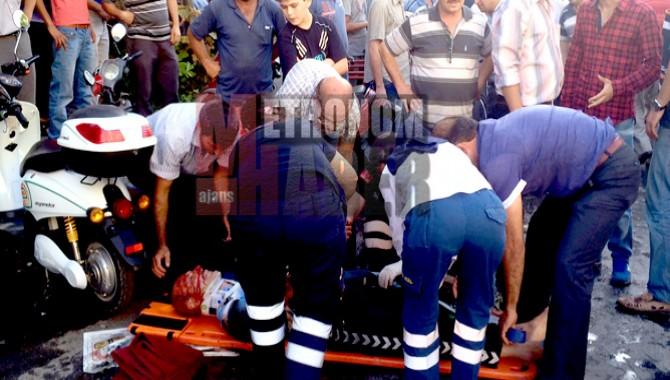 Dikkatsizlik Kazayı Getirdi 1 Kişi Ağır Yaralandı