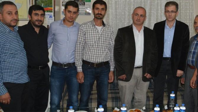 Emniyet Müdürü Pınar, Bayburtlular Derneğini Ziyaret Etti