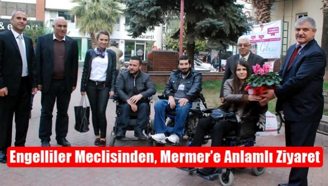 Engelliler Meclisinden, Mermer'e Anlamlı Ziyaret