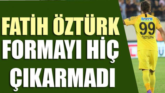 Akhisarsporda Fatih Öztürk formayı hiç çıkarmadı 63