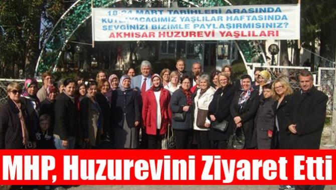 MHP, Huzurevini Ziyaret Etti