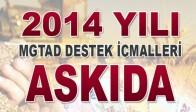 2014 Yılı MGTAD Destek İcmalleri Askıya Çıkarıldı