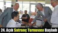 24. Açık Satranç Turnuvası Başladı