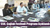 556. Çağlak Festivali Programı Açıklandı