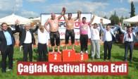 556. Çağlak Festivali Sona Erdi