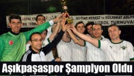 Adliyeler Arası Futbol Turnuvasında Aşıkpaşaspor Şampiyon Oldu