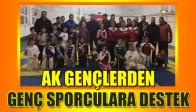 AK Gençler'den Genç Sporculara Destek