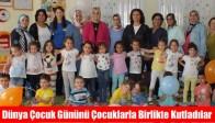 Ak Kadınlar Dünya Çocuk Gününü Çocuklarla Birlikte Kutladılar