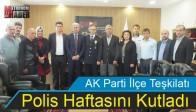 AK Parti İlçe Teşkilatı Polis Haftasını Kutladı