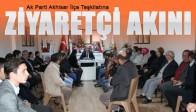 AK Parti İlçe Teşkilatına Ziyaretçi Akını