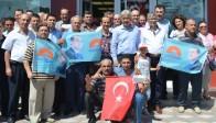 Ak Parti İlçe Teşkilatından Cumhurbaşkanı Adayı Başbakan Tayyip Erdoğan'a Tam Destek