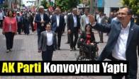 AK Parti Konvoyunu Yaptı