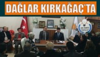 Ak Parti Manisa Milletvekili Aday Adayı Mustafa Dağlar Kırkağaç'ta