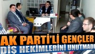 AK Partili Gençler Diş Hekimleri Gününü Kutladı