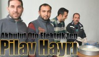 Akbulut Oto Elektrik'ten Pilav Hayrı