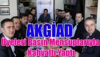 AKGİAD, Üyeleri Basın Mensuplarıyla Kahvaltı Yaptı
