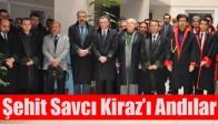 Akhisar Adliyesinde Şehit Savcı Kiraz'ı Anma Töreni Düzenlendi
