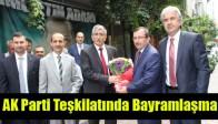 Akhisar AK Parti İlçe Teşkilatında Bayramlaşma