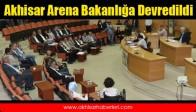 Akhisar Arena Bakanlığa Devredildi