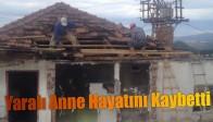 Akhisar Belediye Başkanı Salih Hızlı, Yangın Olayını İnceledi