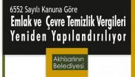 Akhisar Belediyesi'nden Borçlulara Yapılandırma Duyurusu