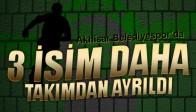 Akhisar Belediyespor'da 3 Oyuncu ile Yollar Ayrıldı