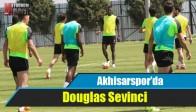 Akhisar Belediyespor'da Douglas Sevinci