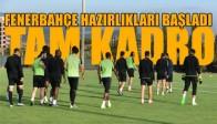 Akhisar Belediyespor, Fenerbahçe Maçı Hazırlıklarına Tam Kadro Başladı
