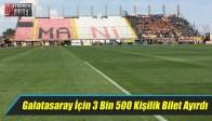 Akhisar Belediyespor, Galatasaray İçin 3 Bin 500 Kişilik Bilet Ayırdı