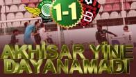 Akhisar Belediyespor-Gençlerbirliği: 1-1