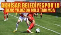 Akhisar Belediyespor'lu Genç Yıldızda Milli Kadroda