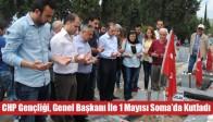 Akhisar CHP Gençliği, Genel Başkanı İle 1 Mayısı Soma Da Kutladı