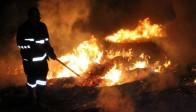 Akhisar'da Yangın Korkulu Anlar Yaşattı
