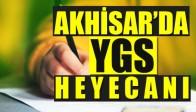 Akhisar'da YGS Heyecanı Yaşandı