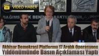 Akhisar Demokrasi Platformu 17 Aralık Operasyonu Yıldönümünde Basın Açıklaması Yaptı