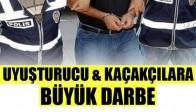 Akhisar Emniyetinden Uyuşturucu ve Kaçakçılara Büyük Darbe