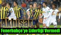 Akhisar Fenerbahçe'ye Liderliği Vermedi