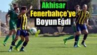 Akhisar, Fenerbahçe'ye Boyun Eğdi