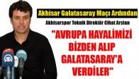 Akhisar Galatasaray Maçı Ardından Neler Konuşuldu