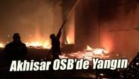 Akhisar OSB'de Yangın