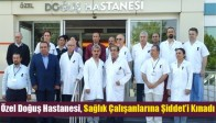 Akhisar Özel Doğuş Hastanesi, Sağlık Çalışanlarına Şiddet'i Kınadı