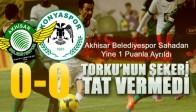 Akhisar ve Konya yenişemedi 0-0