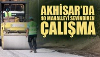 Akhisar'da 40 Mahalleyi Sevindiren Çalışma